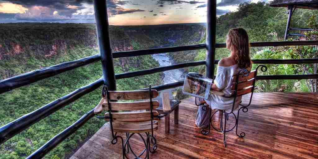12. Imvelo Safari Lodges   Gorges Lodge   Kick back and enjoy a sundowner with a view