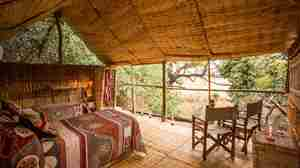 Chikoko Tree Camp twin Chalet zambia yellow zebra safaris